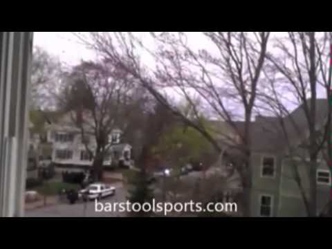 Raw: Watertown gunfire captured from nearby home