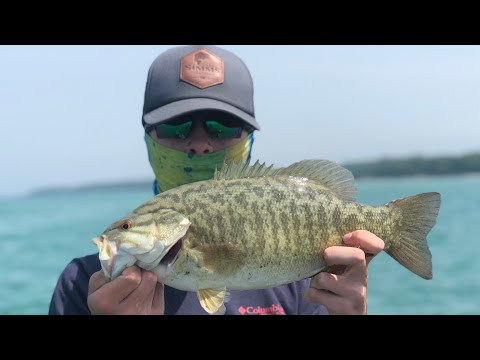 Grand Traverse Bay Smallmouth Fishing + Pike