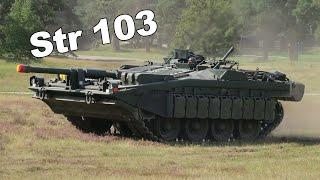 Самый УДИВИТЕЛЬНЫЙ танк в истории. Шведский безбашенный танк Stridsvagn 103(Strv 103)