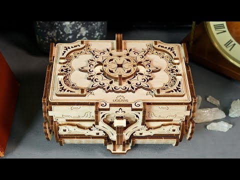 ugears-antique-box-with-8-compartments:-assemble-me.-fill-me-up