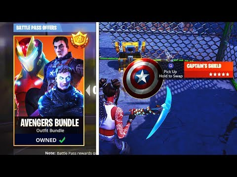 *NEW* AVENGERS x Fortnite LIVE EVENT Countdown! Fortnite Avengers EndGame Trailer & Skins