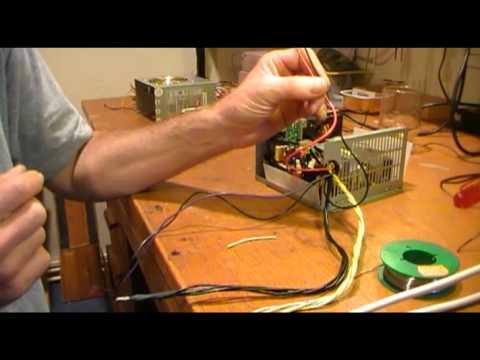 Umbau eines ATX-Netzteiles zum Ladenetzteil