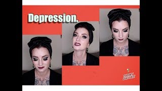 My Battle With & Thoughts on Depression... by CHERRY DOLLFACE