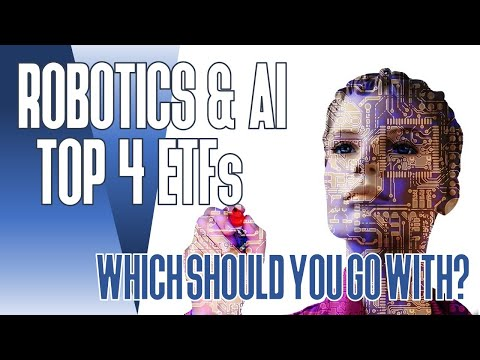 Top 4 Growth ETFs - Robotics & Artificial Intelligence (ARK Invest ARKQ, ROBO, BOTZ, iShares IRBO)