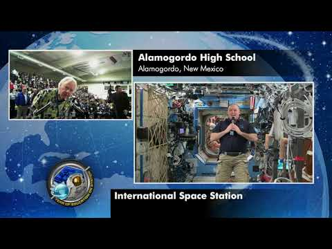 New Mexico Students Speak with NASA Astronaut on Space Station