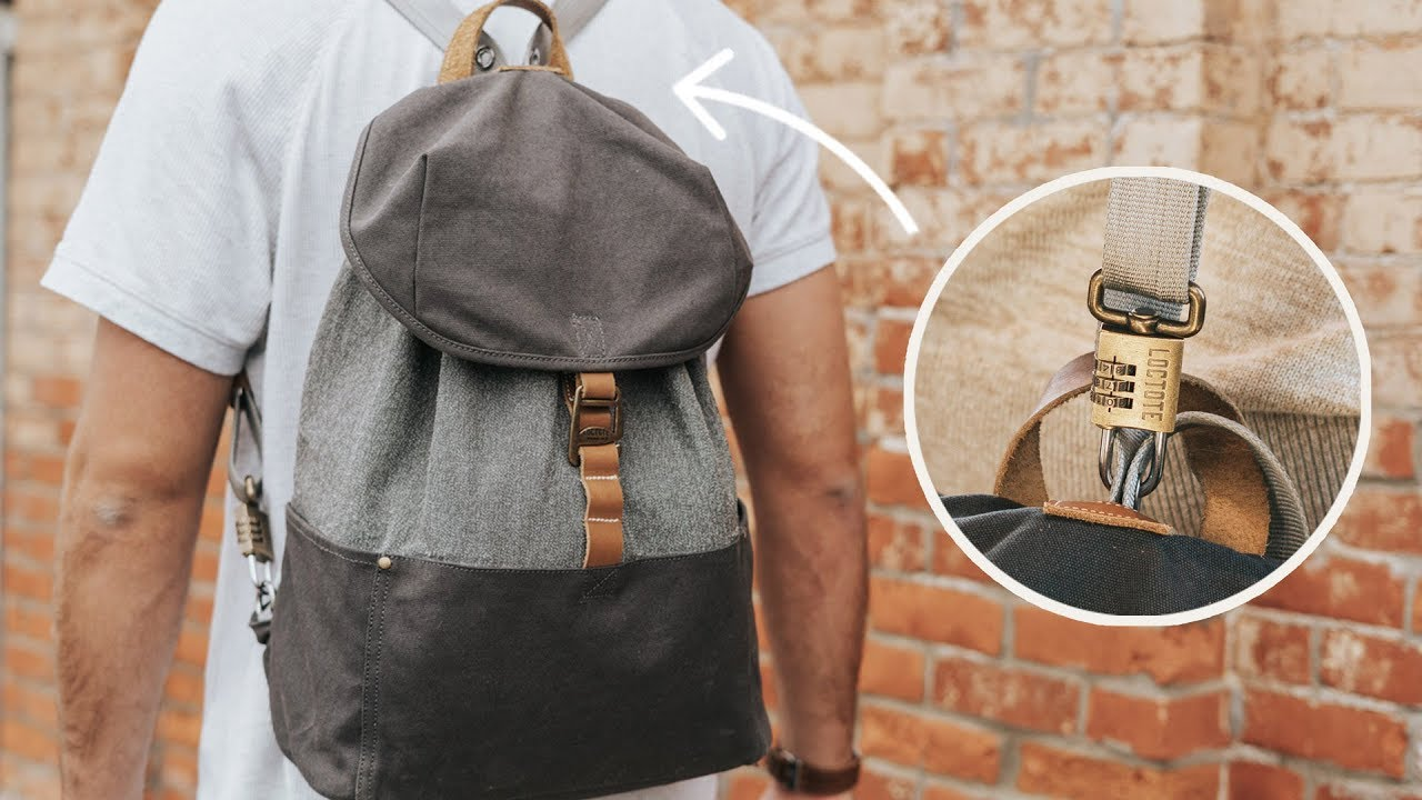 LOCTOTE® Cinch Pack  The World s Most Secure Backpack. Loctote Industrial  Bag Co. de66bf9f84442