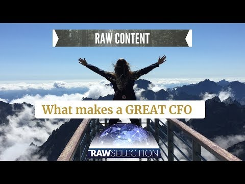 What Makes A Great CFO