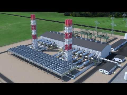 MAN Diesel & Turbo Power Plant Standardization 3D Animation (English)