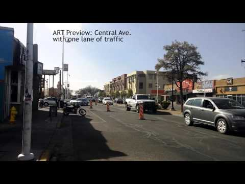 ART Route 66 one lane traffic - full length version