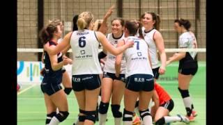 160302 Sliedrecht Sport Dames 1 - Regio Zwolle Volleybal Dames 1 (Foto's: Hans van Wijngaarden)