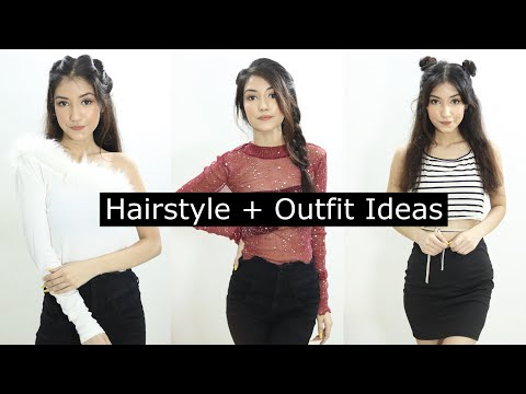 hairstyle-plus-outfits-look-and-ideas-|-hairstyle-look-ideas-for-festive-season