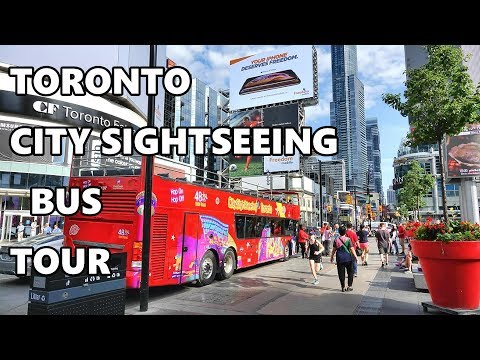 toronto---city-sightseeing-bus-tour-2019-4k