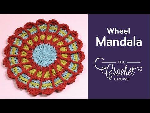 How to Crochet A Mandala: Wheel