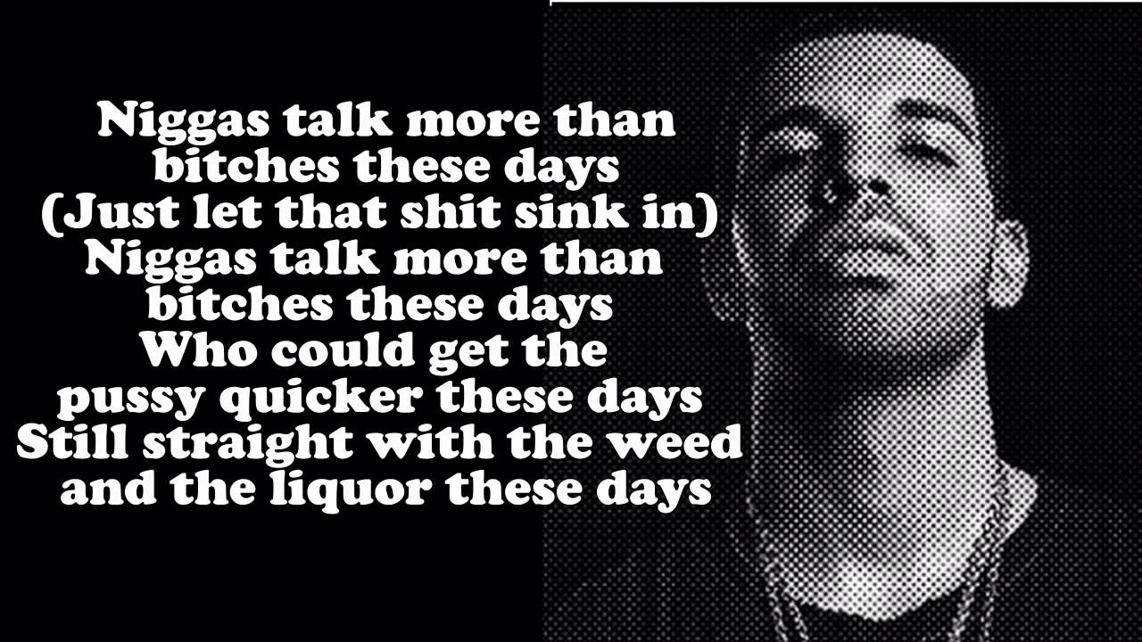 Drake Song Quotes Drake Own It Lyrics On Screen Nothing Was The Same Album  Youtube