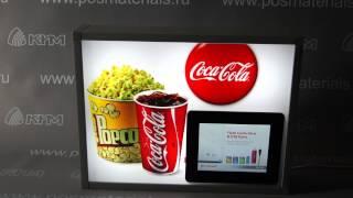 Световой короб с фоторамкой, воспроизводящей видеоролики от фирмы КИМ(, 2013-08-06T09:31:54.000Z)