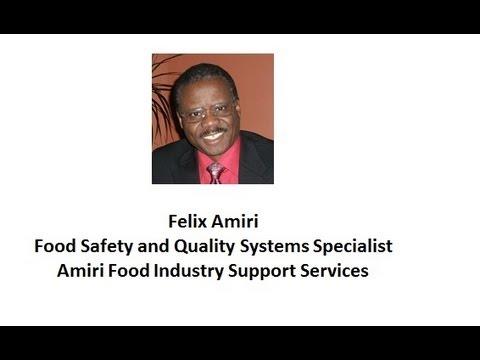 Food Production Operation Risk Assessment--Felix Amiri