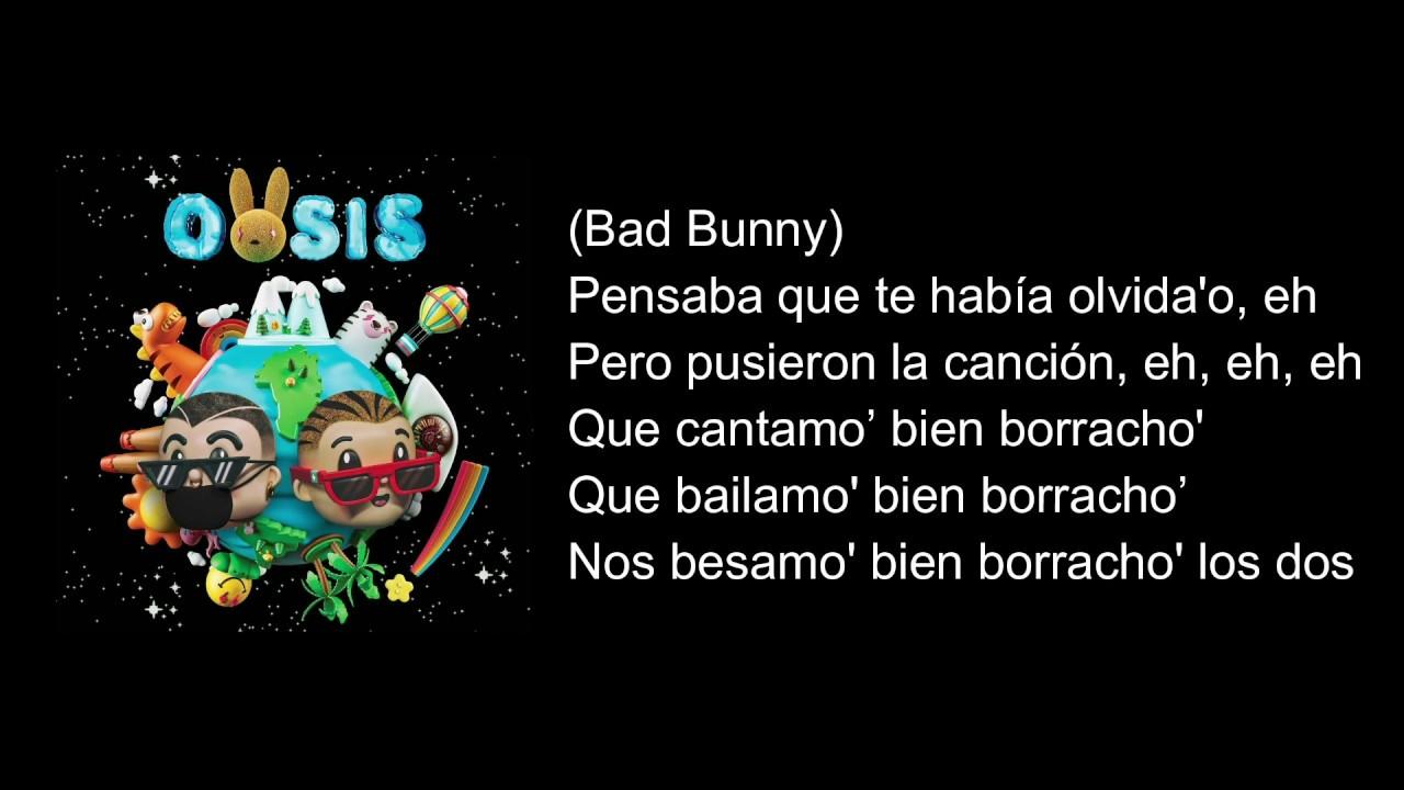 J Balvin, Bad Bunny- La Canción (Letra)