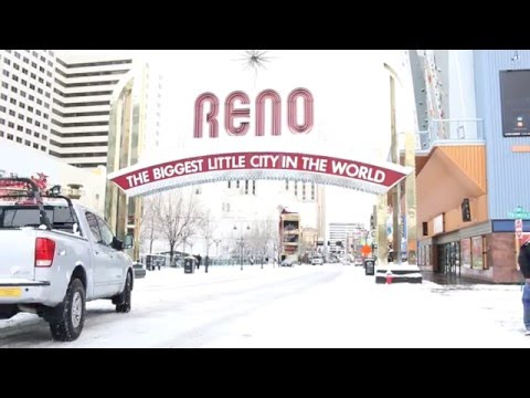 Snow in Reno Nevada by Dr Riar