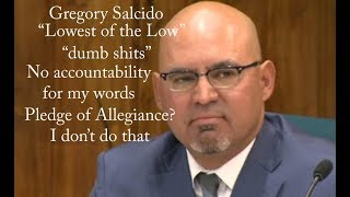 Gregory Salcido - SUBSCRIBE :) -- council Meeting 27 Feb 2018 - Fool - Pico Rivera - councilman