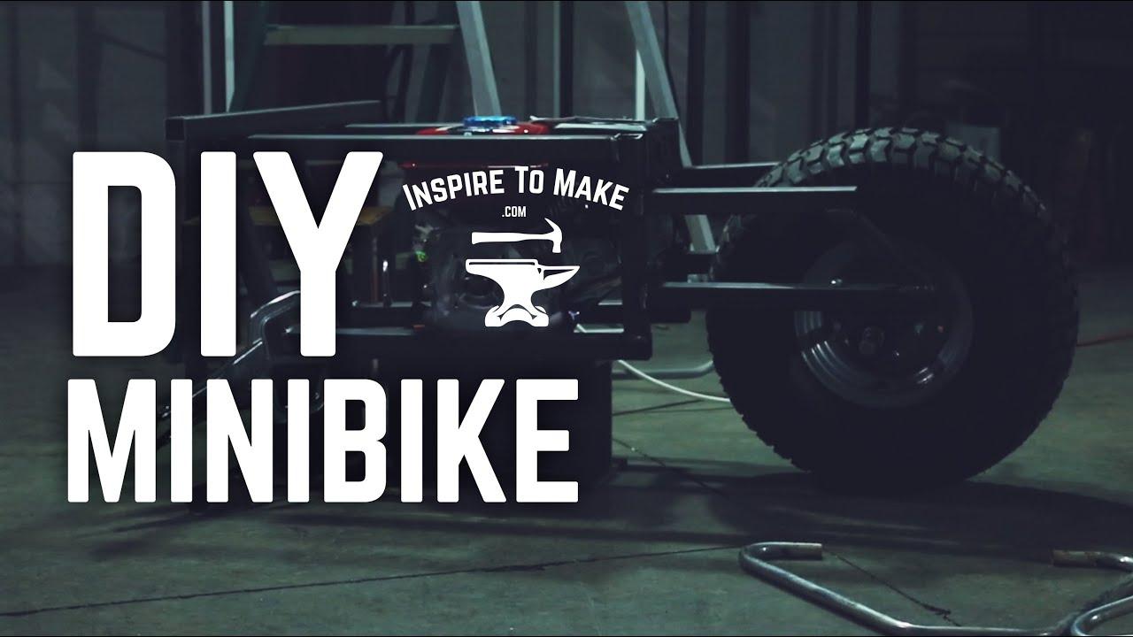 Diy Mini Bike Youtube