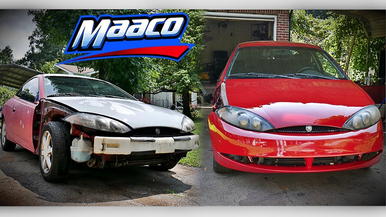 What Does A 500 Maaco Paint Job Look Like Youtube