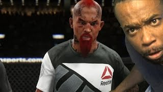 HE LOOK RACIST WTF! UFC 2 Ultimate Team Gameplay! Fight For Contender Title!