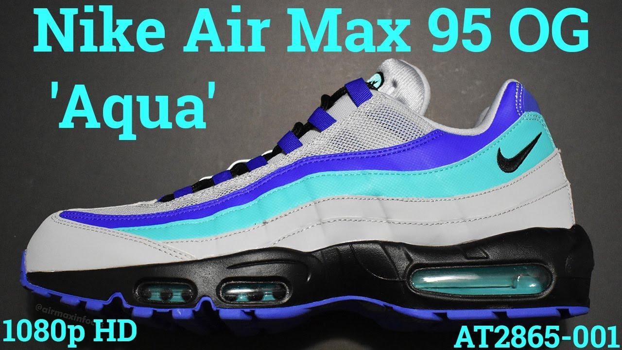 air max 95 aqua