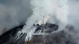 شاهد..ثوران بركان كوليما في المكسيك