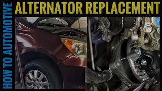 How to Replace an Alternator on a 2009/2010 Honda Odyssey