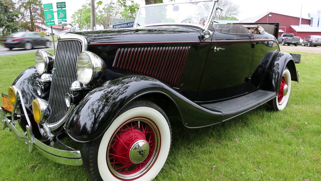 1934 ford model 40 roadster w rumble seat for saleflathead v8hershey senior awardawesome