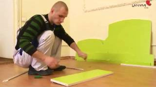 Видео-инструкция по сборке кроватки Lanami Lavinia