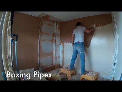 Day In The Life Of A Plasterer - Boxing Pipes