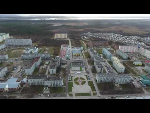 Усинск с высоты птичьего полета / Flight Over Usinsk