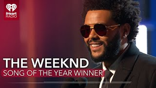 The Weeknd Acceptance Speech Song Of The Year 2021 Iheartradio Awards MP3