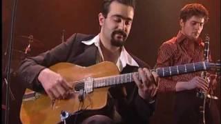 Jazz Manouche - Madamirma au Bateau Ivre à Tours - Donna Lee (Charlie Parker / Miles Davis).avi