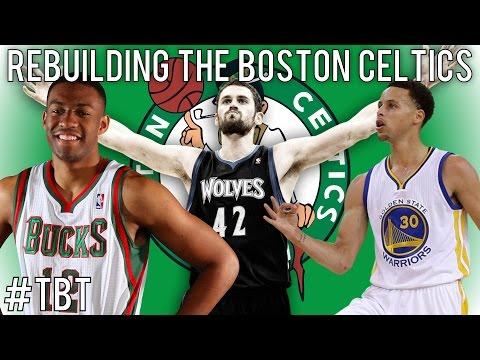 (#TBT) NBA 2K14 MyGM: Rebuilding the Boston Celtics!