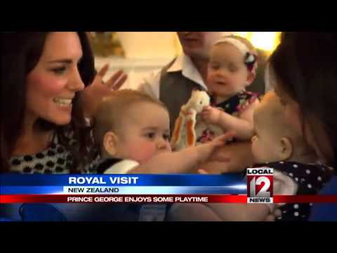 William and Kate meet first time New Zealand parents