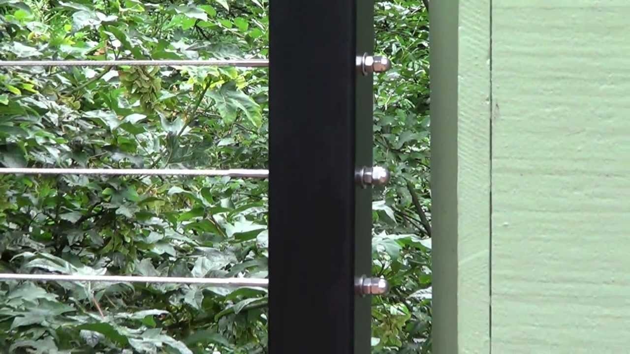Hansen Cable Railing Installation - YouTube