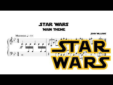 Star Wars Main Theme Piano Arrangement
