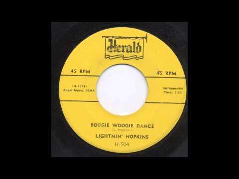 LIGHTNIN' HOPKINS - BOOGIE WOOGIE DANCE - HERALD