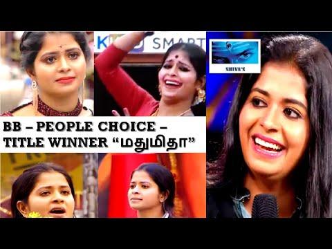 BIGGBOSS 3 | 23rd August 2019 | மதுமிதா தான்  BB வின்னர் !!!
