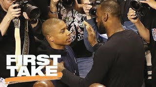 First Take reacts to LeBron James defending Isaiah Thomas on Twitter | First Take | ESPN