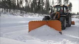 FMG; Nivelaura Articulated Snow Plough