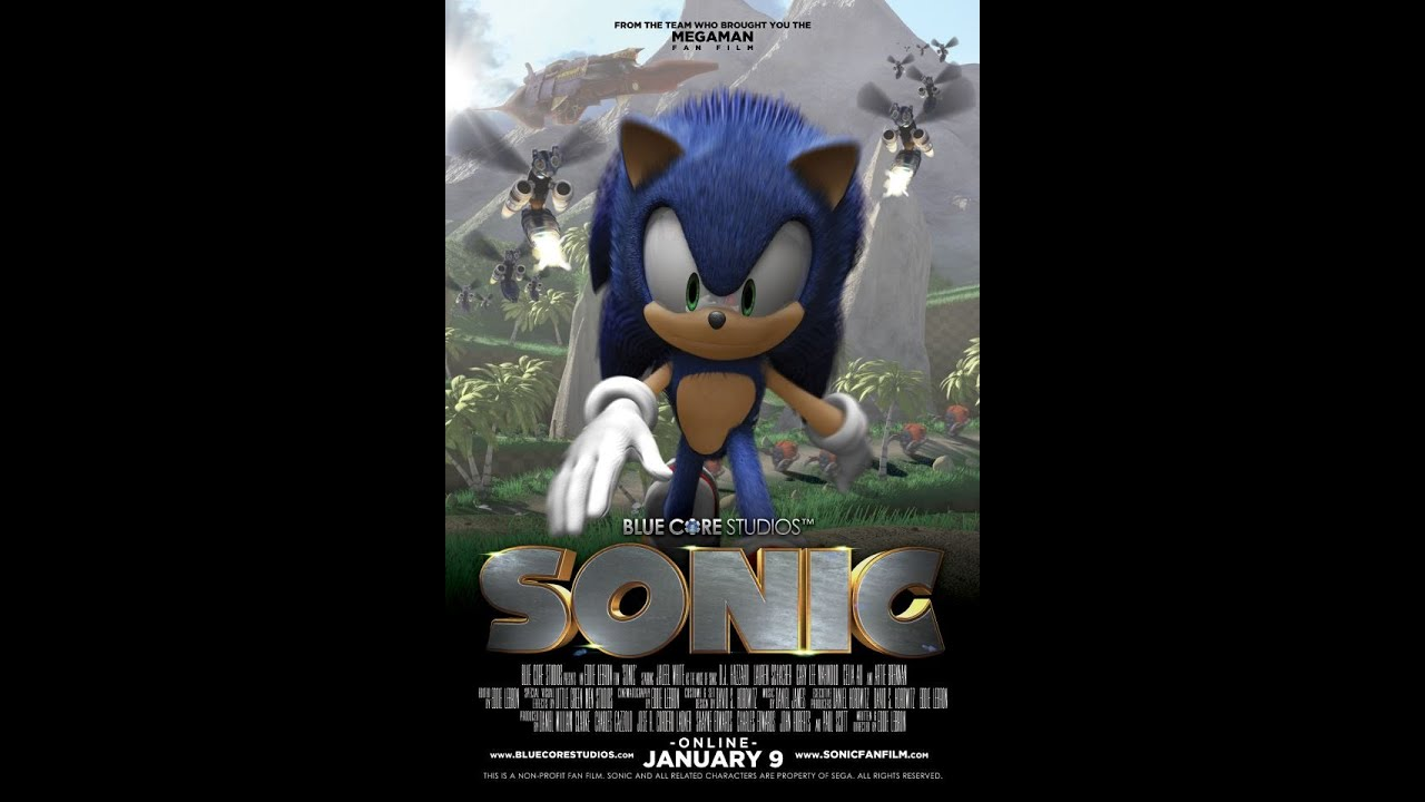 Sonic The Hedgehog La Película Fan Sub Español F Youtube
