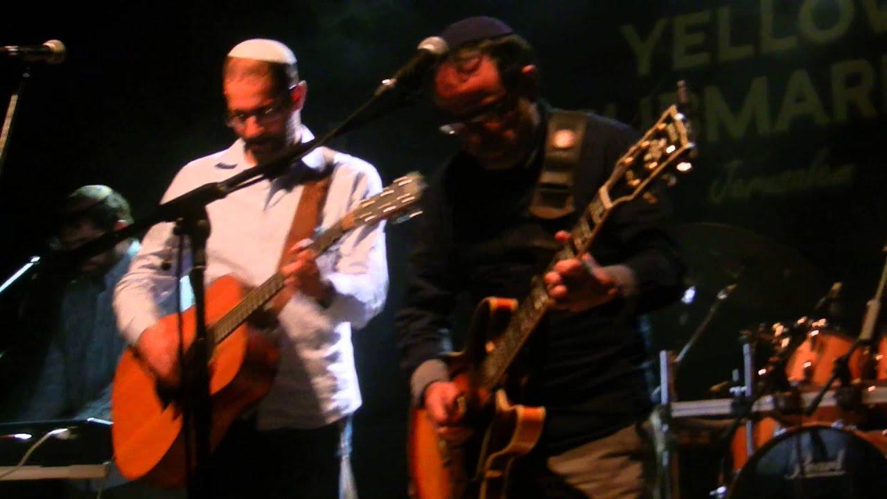 יוני גנוט ואהוד בנאי - ברון יחד בהופעה