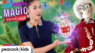 Magic Eggnog Trick | JUNK DRAWER MAGIC TRICKMAS