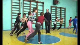 """Урок фізкультури у 5 класі: """"Легка атлетика  з елементами АПГ"""""""