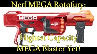 NERF NEWS: MEGA ROTOFURY (Release Date, Game, Price Discussion)