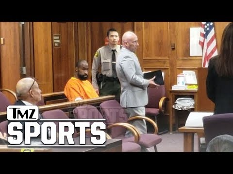Brandon Browner In Handcuffs and Jumpsuit at Attempted Murder Hearing | TMZ Sports