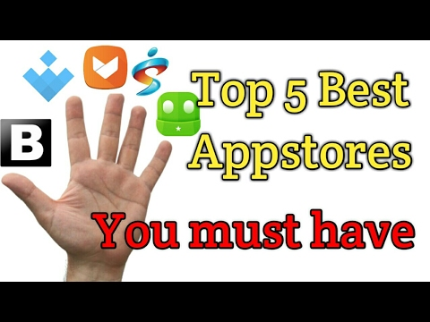 Top 5 Best Appstores Alternative Of Google Playstore (Hindi)